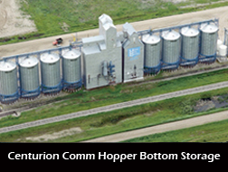 Centurion Comm Hopper Bottom Storage